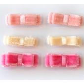 Laço Chanel com Velcro Para Bebê