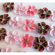 Lacinho Florzinha - Oncinha Rosa