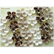 Lacinho Florzinha - Tons de Bege