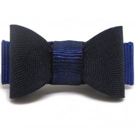 Micro Bico de Pato Laço Azul Marinho