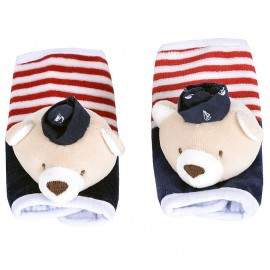 Protetor para Cinto de Segurança para Bebê Urso Marinheiro Zip Toys