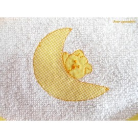 Babador e Fralda Urso na Lua