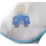Cobertor de Soft Pele de Ovelha - Menino no Fusca
