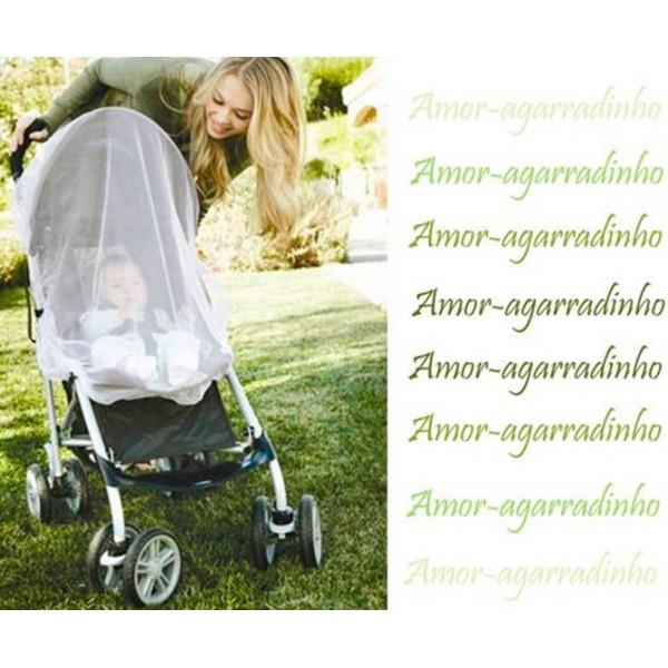 Mosquiteiro para Carrinho/Bebê Conforto
