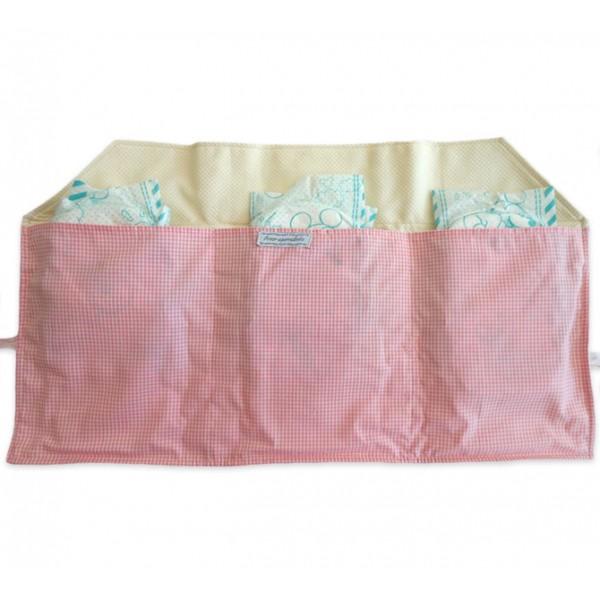 Porta Fraldas para Bolsa Ursinha Princesa