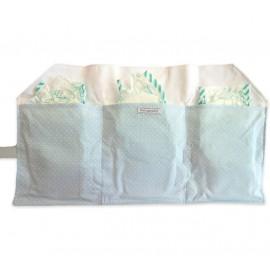 Porta Fraldas para Bolsa Ursinho Azul
