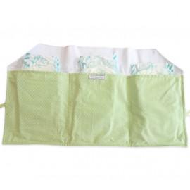 Porta Fraldas para Bolsa Ursinho Verde