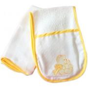Regurgitador e Fralda - Ursinho Amarelo