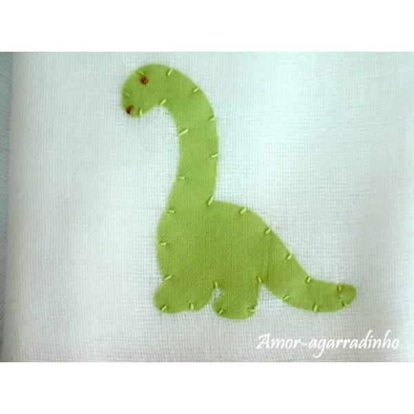 Fraldas Ombro e Boca - Dinossauro
