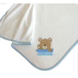 Toalha De Banho Com Capuz - Ursinho