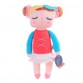 Boneca de Pano Angela Bailarina Vermelha Metoo 33 cm