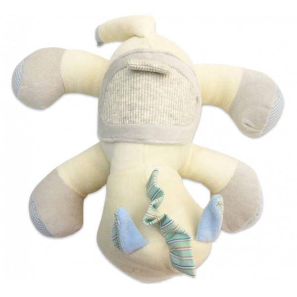 Bichinho Pelúcia Cavalo Tecido Antialérgico com Chocalho para Bebê Zip Toys