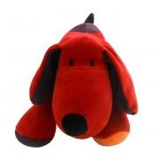 Bichinho Cachorro Vermelho em Plush Antialérgico com Certificado do Inmetro Zip Toys