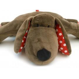 Naninha Cachorro que Vira Travesseiro Bichinho Antialérgico Zip Toys