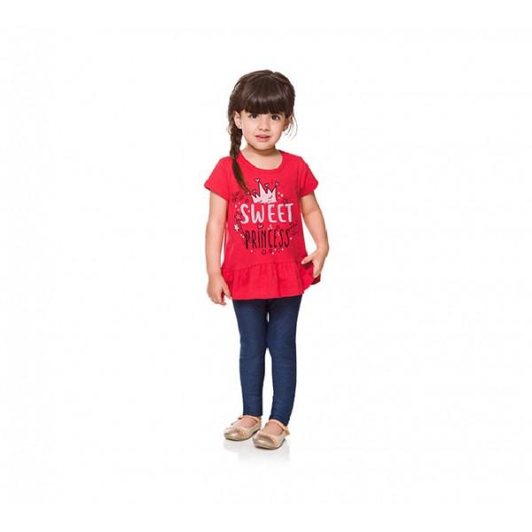 Blusa Infantil Babadinhos Princesa
