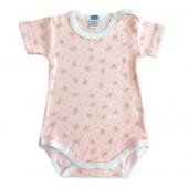 Body Floral Manga Curta para Bebê Chicco