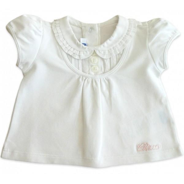 Conj. Bebê Bata e Bermuda de Piquet Chicco