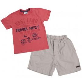Conj. Bermuda e Camiseta Bicicleta
