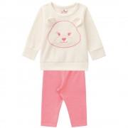 Conjunto Blusão Soft Brandili Ursinho Bebê Menina M 6-9 Meses