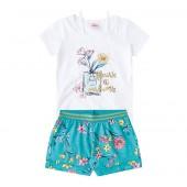 Conj. Infantil Verão Floral Brandili