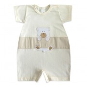 Macacão Curto de Bebê Ursinho