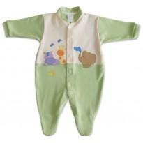 Macacão de Bebê Safári Verde