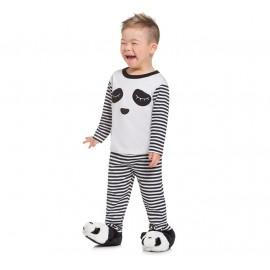 Pijama Infantil Manga Longa Urso Panda Unissex Brandili 2 Anos