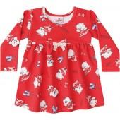 Vestido Bebê Ursa Bailarina Brandili