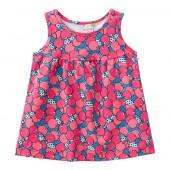Vestido para Bebê Cerejinhas