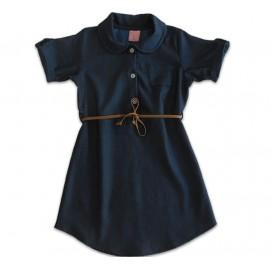 Vestido Camisa Jeans Infantil