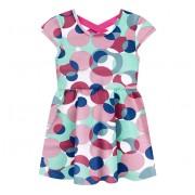 Vestido Infantil Verão Brandili Bolas Coloridas Menina 1-3 Anos