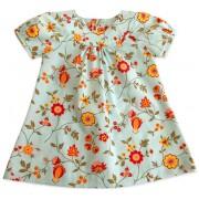Vestido Floral Azul Para Bebê Chicco