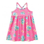 Vestido Infantil Brandili Rosa