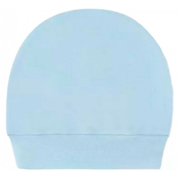 Kit Touca e Luva Azul para Bebê