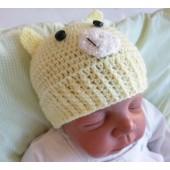 Touca para Bebê - Porquinho