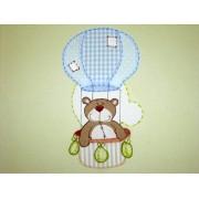 Quadro Urso no Balão