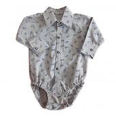 Body Camisa para Bebê