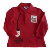 Camisa Polo Vermelha Chicco (Moletinho)