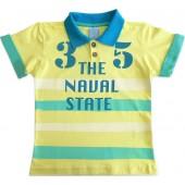 Camiseta Gola Polo Infantil