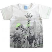Camiseta Infantil Safári Urbano