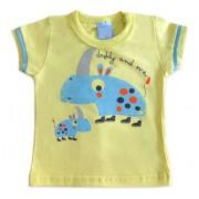 Camiseta Bebê Rinoceronte Papai e Eu
