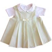 Vestido Floral para Bebê RN com Body