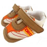 Tênis Bege com Velcro para Bebê Chicco